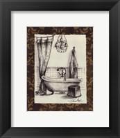 Elegant Bath II Framed Print
