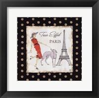 Ladies in Paris II Framed Print