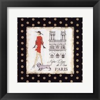 Ladies in Paris IV Framed Print
