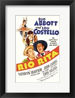 Framed Abbott and Costello, Ria Rita, c.1942
