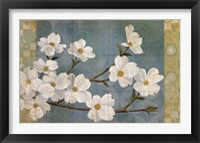 Framed Kimono Blossoms