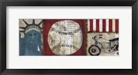 American Pop I Framed Print