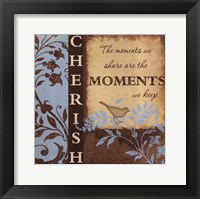 Cherish Framed Print