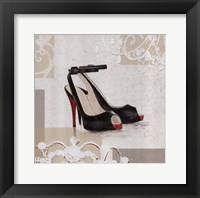 Evening Heels Framed Print