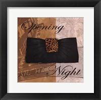 Opening Night Framed Print