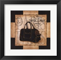 Shopping Paris Framed Print
