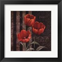 Paris Fleurs I Framed Print