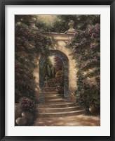 Framed Watson's Garden I