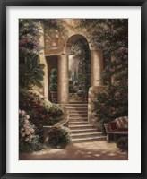 Watson's Garden II Framed Print