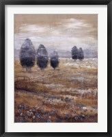 Linen Meadow I Framed Print