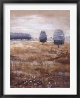 Linen Meadow II Framed Print