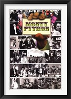 Framed Monty Python - Flying Circus Mosaic