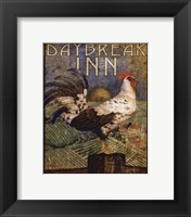 Rooster Sign I - mini Framed Print