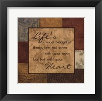Life's Things Framed Print