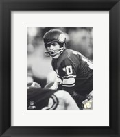 Framed Fran Tarkenton - Action
