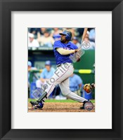 Framed Vladimir Guerrero 2010 Batting