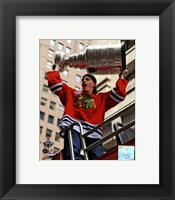 Framed Patrick Kane Chicago Blackhawks 2010 Stanley Cup Champions Victory Parade (#50)