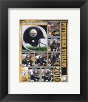 Framed Pittsburgh Steelers 2010 Composite