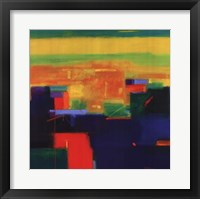 Colorscape # 3 Framed Print