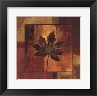 October Leaf I Framed Print