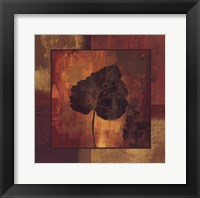 October Leaf III Framed Print