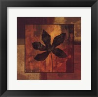 October Leaf IV Framed Print