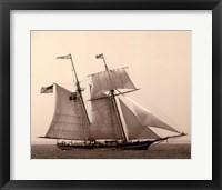 Framed Open Seas