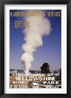 Framed Yellowstone