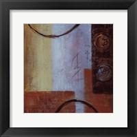 Framed Warm Texture I