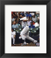Framed Ryan Braun 2010 Action
