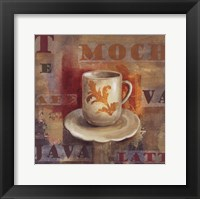Urban Cafe II Framed Print
