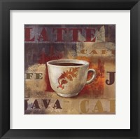 Urban Cafe IV Framed Print