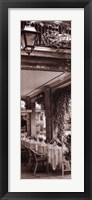 Caffe, Bellagio Framed Print
