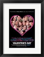 Framed Valentine's Day, c.2010 style b