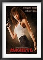 Framed Machete - Sartana