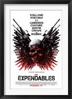 Framed Expendables - Skull One-Sheet