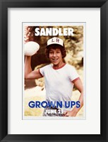 Framed Grown Ups - Sandler