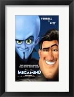 Framed Megamind - Style B