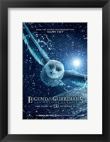 Framed Legend of the Guardians: The Owls of Ga'Hoole