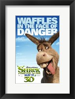 Framed Shrek Forever After - Style E