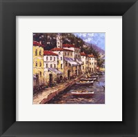 Port To Lucca I Framed Print