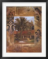 Framed Toscano Palm III