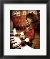 Framed Pianist