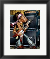 The Young Guitarist Framed Print