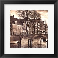 Autumn in Amsterdam II Framed Print