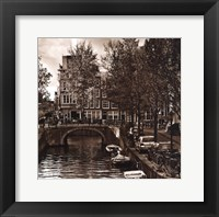 Autumn in Amsterdam IV Framed Print