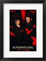 Framed Supernatural (TV) Black and Red