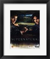 Framed Supernatural (TV) Winchester Brothers