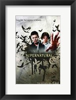 Framed Supernatural (TV) Good. Evil. Everywhere In Between.