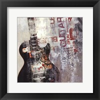 Rock N Roll II Framed Print